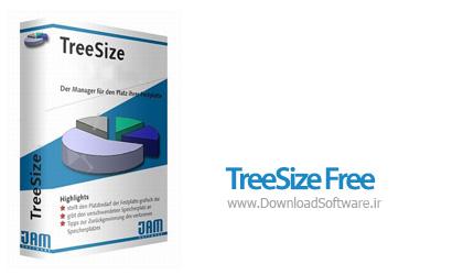 دانلود نرم افزار TreeSize Free - نرم افزار مدیریت هارد دیسک