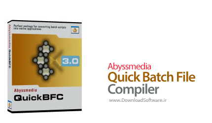 دانلود Abyssmedia Quick Batch File Compiler - ساخت فایل EXE از فایل های Batch