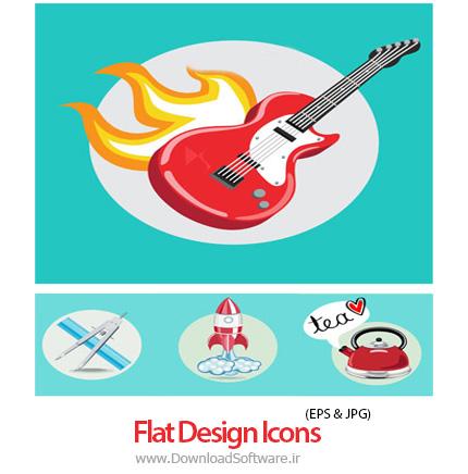 Flat-Design-Icons