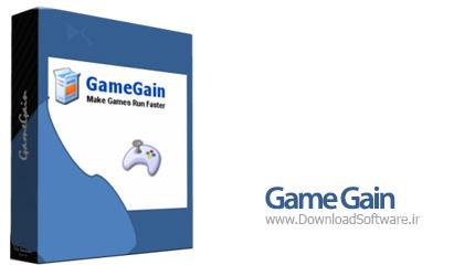 دانلود GameGain افزایش سرعت اجرای بازی ها
