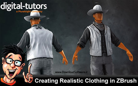 Digital-Tutors-–-Creating-Realistic-Clothing-in-ZBrush