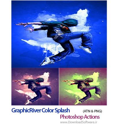 GraphicRiver-Color-Splash-Photoshop-Actions