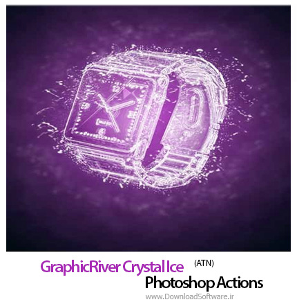 GraphicRiver-Crystal-Ice-Photoshop-Action