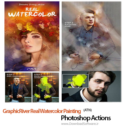 GraphicRiver-Real-Watercolor-Painting-Photoshop-Action