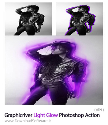 Graphicriver-Light-Glow-Photoshop-Action