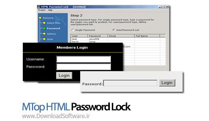 MTop-HTML-Password-Lock