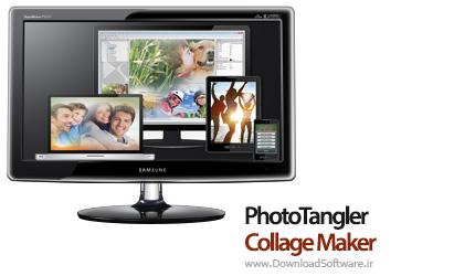 دانلود PhotoTangler Collage Maker - نرم افزار زرق و برق دار کردن عکس
