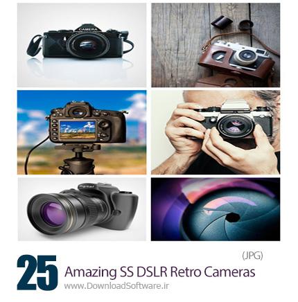 Amazing-Shutterstock-DSLR-Retro-Cameras