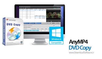 دانلود نرم افزار AnyMP4 DVD Copy برنامه کپی فیلم های دی وی دی