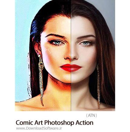 Comic-Art-Photoshop-Action