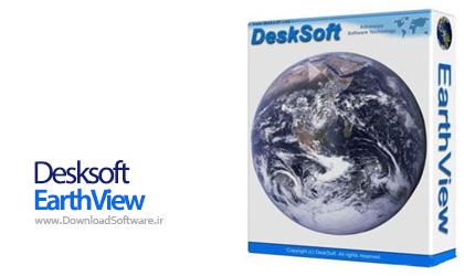 دانلود نرم افزار Desksoft EarthView - اسکرین سیور مشاهده کره زمین در پس زمینه ویندوز