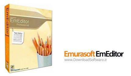 دانلود Emurasoft EmEditor + Portable - ویرایشگر حرفه ای متن