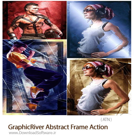 GraphicRiver-Abstract-Frame-Photoshop-Action