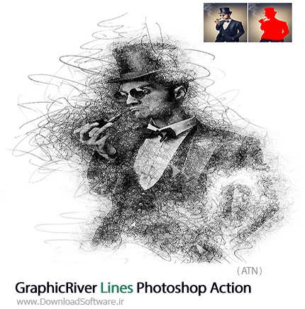 GraphicRiver-Lines-Photoshop-Action