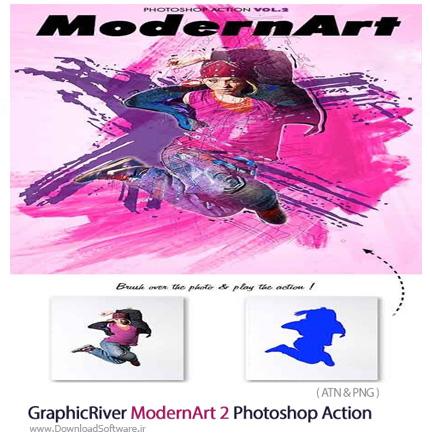 GraphicRiver-ModernArt-2-Photoshop-Action