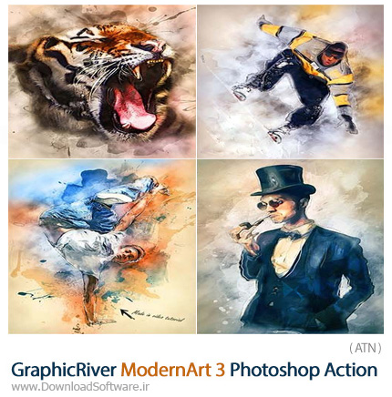 GraphicRiver-ModernArt-3-Photoshop-Action