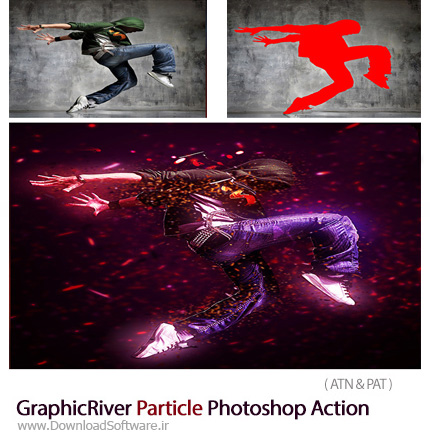 GraphicRiver-Particle-Photoshop-Action