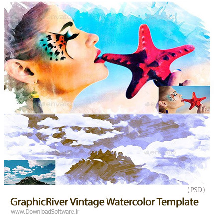 GraphicRiver-Vintage-Watercolor-Template