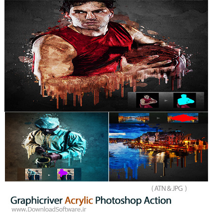 Graphicriver-Acrylic-Photoshop-Action