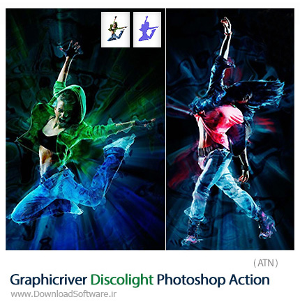 Graphicriver-Discolight-Photoshop-Action