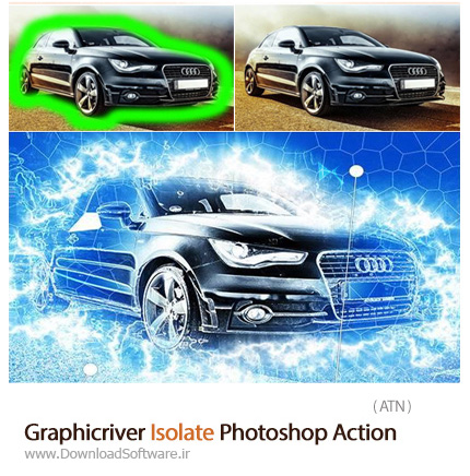 Graphicriver-Isolate-Photoshop-Action