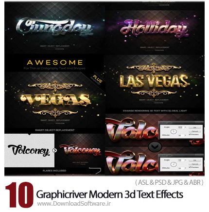 Graphicriver-Modern-3d-Text-Effects