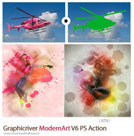 Graphicriver-ModernArt-V6-PS-Action