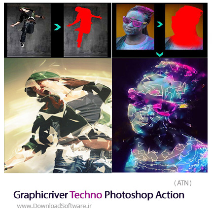 Graphicriver-Techno-Photoshop-Action