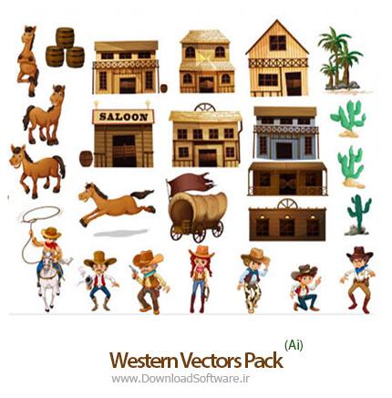 Western-Vectors-Pack