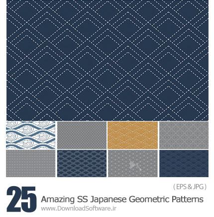 Amazing-ShutterStock-Japanese-Geometric-Patterns