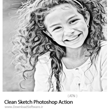 Clean-Sketch-Photoshop-Action
