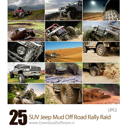 Collection-Of-SUV-Jeep-Mud-Off-Road-Rally-Raid
