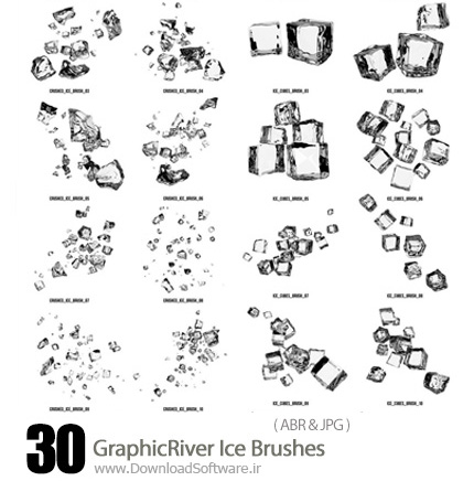 GraphicRiver-30-Ice-Brushes