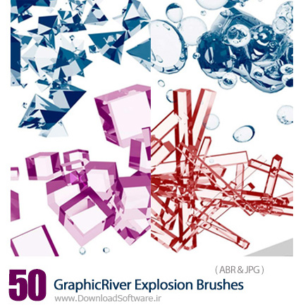 GraphicRiver-50-Explosion-Brushes