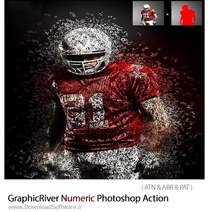 GraphicRiver-Numeric-Photoshop-Action