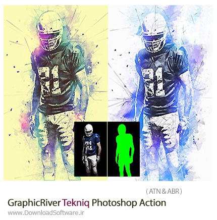 GraphicRiver-Tekniq-Photoshop-Action