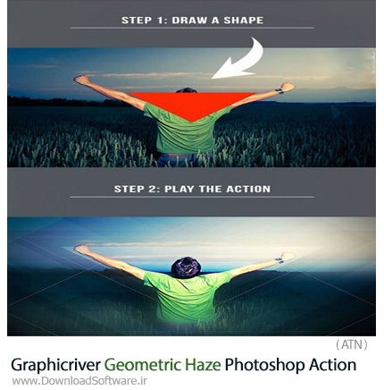 Graphicriver-Geometric-Haze-Photoshop-Action