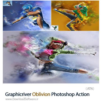 Graphicriver-Oblivion-Photoshop-Action