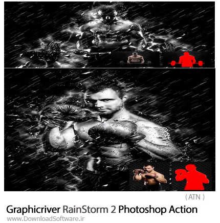 Graphicriver-RainStorm-2-Photoshop-Action