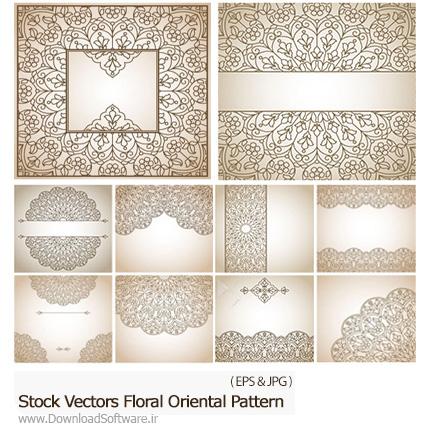 Stock-Vectors-Floral-Oriental-Pattern
