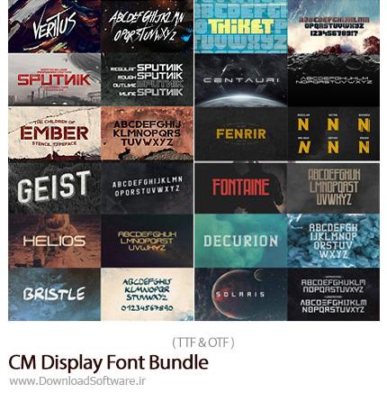CM-Display-Font-Bundle-22-Typefaces-65-Fonts