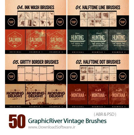 GraphicRiver-50-Vintage-Brushes