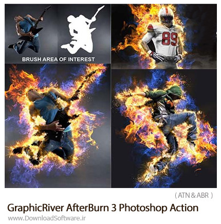 GraphicRiver-AfterBurn-3-Photoshop-Action