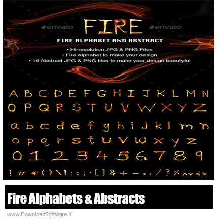 GraphicRiver-Fire-Alphabets-And-Abstracts