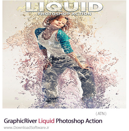 GraphicRiver-Liquid-Photoshop-Action