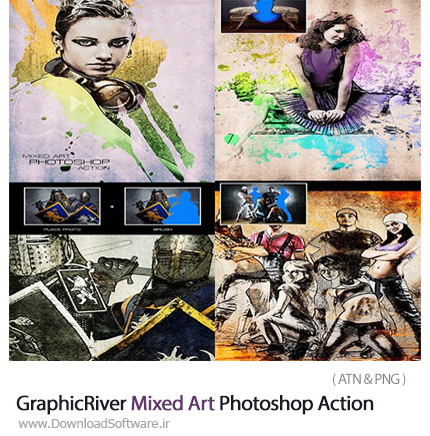 GraphicRiver-Mixed-Art-Photoshop-Action