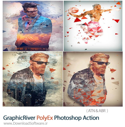 GraphicRiver-PolyEx-Photoshop-Action