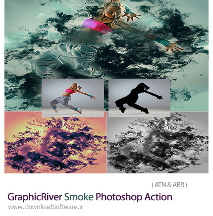 GraphicRiver-Smoke-Photoshop-Action