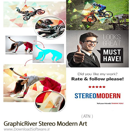 GraphicRiver-Stereo-Modern-Art