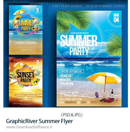 GraphicRiver-Summer-Flyer-Bundle